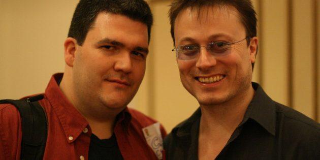 Chris Hambly and C.C. Chapman