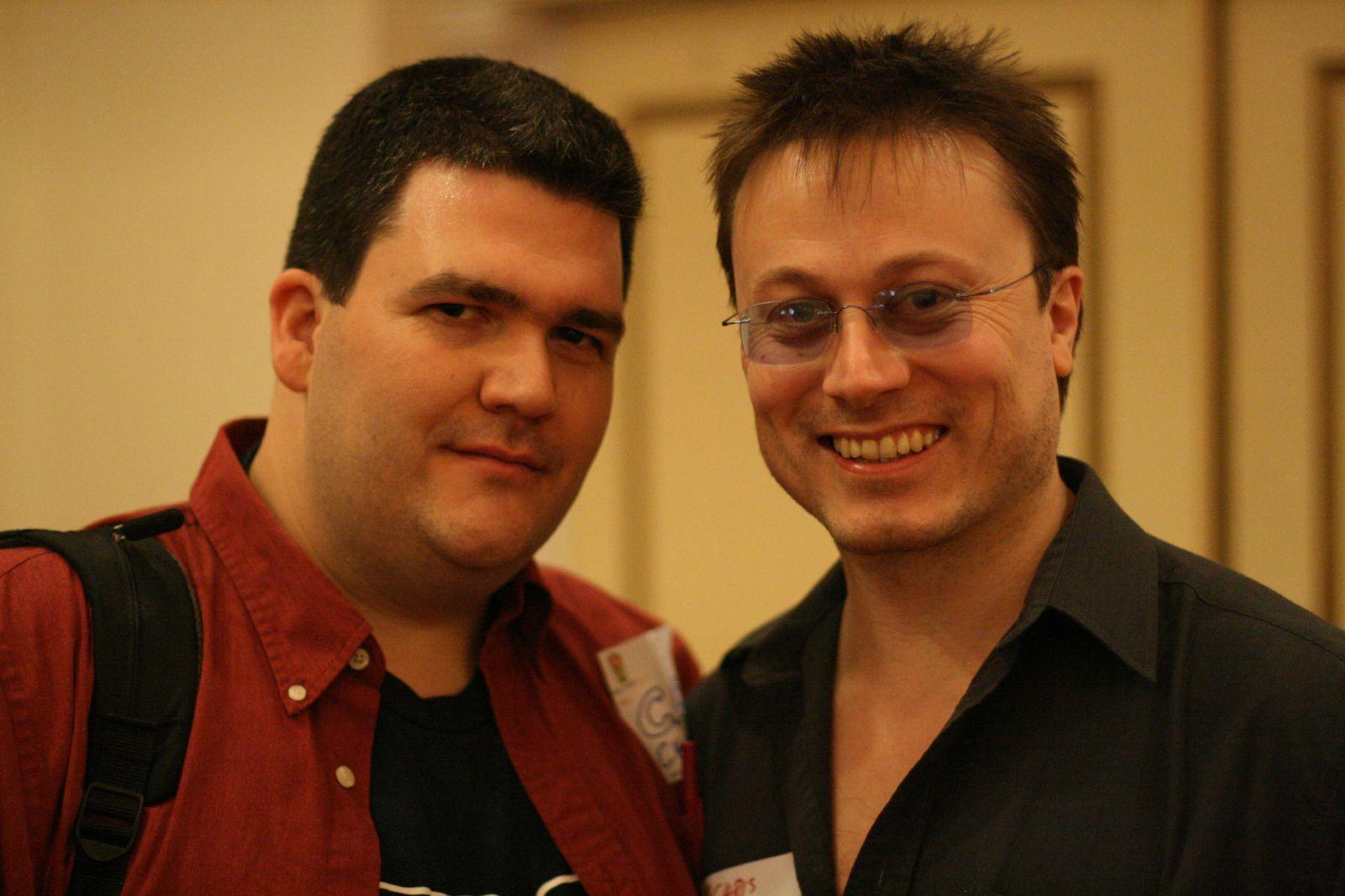 Chris Hambly & C.C. Chapman